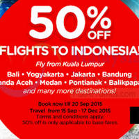 Read more about Air Asia fr RM49 Promo Fares 14 - 20 Sep 2015