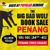 Read more about Big Bad Wolf Books Sale @ Penang Times Square 24 Sep - 4 Oct 2015