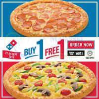 Read more about Domino's Pizza Buy 1 FREE 1 Coupon Code 22 - 25 Sep 2015