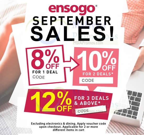 Read more about Ensogo Malaysia 8% to 12% OFF Coupon Code 7 - 8 Oct 2015