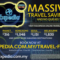 Read more about Expedia fr RM209 Travel Deals 5 - 15 Sep 2015