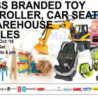 Read more about GBS Branded Toys Warehouse Sale @ Petaling Jaya 1 - 3 Oct 2015