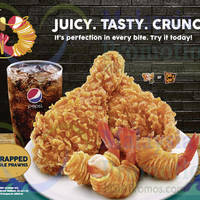Read more about KFC Hand - Wrapped Potato Noodle Prawns 23 Sep 2015