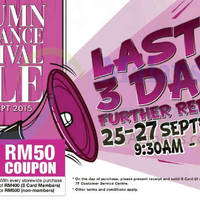 Read more about KL Sogo Spend RM180 & Get Free RM10 Rebate Coupon 25 - 27 Sep 2015