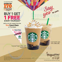 Read more about Starbucks Buy 1 FREE 1 Frappuccino 1-Day Promotion 17 Sep 2015