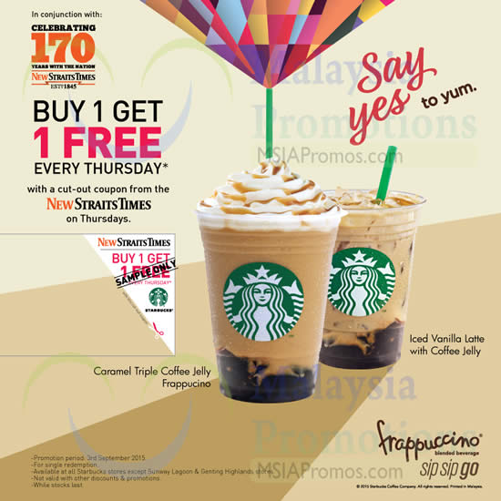 Starbucks discount coupon