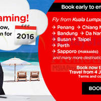 Read more about Air Asia fr RM39 Promo Fares 28 Sep - 4 Oct 2015