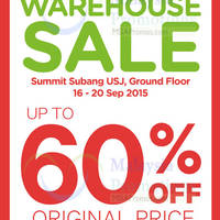 Read more about Stride Rite Warehouse SALE @ Summit Subang USJ 16 - 20 Sep 2015