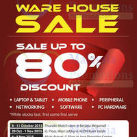 Read more about Thunder Match Technology Warehouse Sale @ Gurney Plaza 3 - 6 Dec 2015