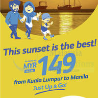 Cebu Pacific Air RM149 (all-in) Manila Promo Fares 6 - 9 Oct 2015