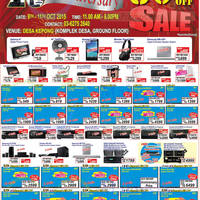 Read more about Desa Home Theatre Audio Visual TVs, HiFi & Other Offers 9 Oct 2015