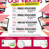 Read more about Ensogo Malaysia RM25 to RM250 OFF 1-Day Coupon Codes 4 Oct 2015
