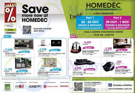 Homedec Kuala Lumpur Convention Centre 22 Oct 1 Nov 2015