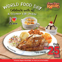Kenny Rogers Roasters RM25 Meal 1-Day Promo 16 Oct 2015