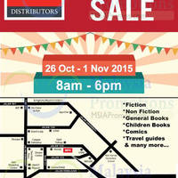 Read more about MPH Distributors Warehouse Sale 26 Oct - 1 Nov 2015