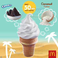 Read more about McDonald's Desserts Top Up 50 Sen For Oreo or Coconut Flakes From 21 Oct 2015