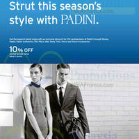Read more about Padini 10% Off Storewide For Citibank Cardmembers 28 Oct - 31 Dec 2015