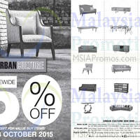 Urban Culture Storewide 50% Off 10 - 18 Oct 2015