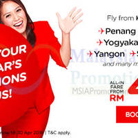 Air Asia fr RM49 (all-in) Promo Fares 30 Nov - 6 Dec 2015