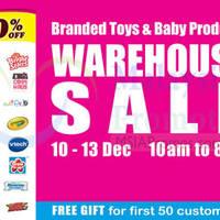 Babylove Warehouse Sale @ Cheras Jaya 10 - 13 Dec 2015
