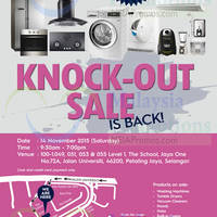 Read more about Electrolux Warehouse Sale 14 Nov 2015