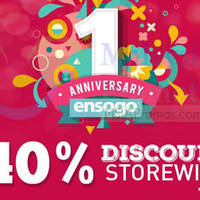 Read more about Ensogo Malaysia 40% OFF Storewide 1-Day NO Min Spend Coupon Code 25 Nov 2015