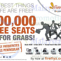 Read more about Firefly 200,000 FREE Seats Promotion 2 - 6 Nov 2015