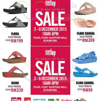 Fitflop Sale @ Pearl Point 3 - 6 Dec 2015