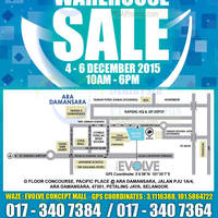 Hasbro Warehouse Sale @ Evolve Concept 4 - 6 Dec 2015