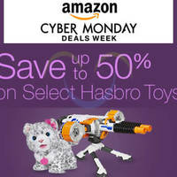 Hasbro up to 50% Off Toys 24hr Promo 30 Nov - 1 Dec 2015