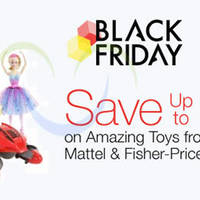 Mattel & Fisher-Price Toys Up To 50% Off Black Friday 24hr Promo 27 - 28 Nov 2015