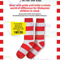 Read more about McDonald's Striking Socks Offer From 7 Nov 2015
