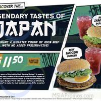 Read more about Mcdonald's New Beef Shogun & Beef Samurai Burger From 12 Nov 2015