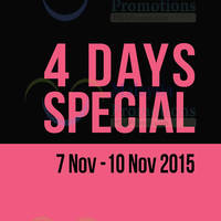 Read more about Padini 4-Days Special @ Nationwide 7 - 10 Nov 2015