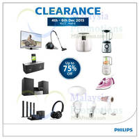 Philips Home Living Warehouse Sale 4 - 6 Dec 2015
