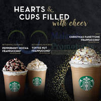 Read more about Starbucks Christmas Frappuccinos are BACK From 17 Nov 2015