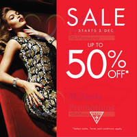 Read more about Guess Year End Sale 3 - 31 Dec 2015