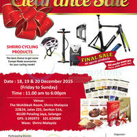 Read more about Shriro Clearance Sale @ Petaling Jaya Selangor 18 - 20 Dec 2015