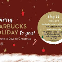 Read more about Starbucks RM10 VIA Lattes & More 1-Day Promo 23 Dec 2015