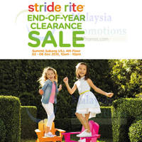 Read more about Stride Rite End-of-Year Clearance @ Summit Subang USJ 3 - 6 Dec 2015