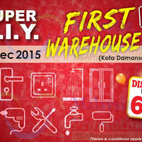 Read more about Super Ceramic Tiles & Design Warehouse Sale @ Kota Damansara 3 - 6 Dec 2015