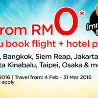 Read more about Air Asia Go Book Hotel & Fly From RM0 Promo 1 - 7 Feb 2016