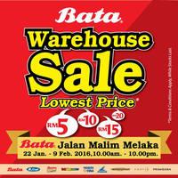 Read more about Bata Warehouse Sale @ Melaka 22 Jan - 9 Feb 2016