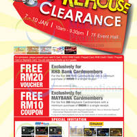Read more about KL Sogo Warehouse Clearance 7 - 10 Jan 2016