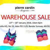 Read more about Pierre Cardin Warehouse Sale 13 - 16 Jan 2016