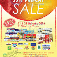 Read more about Shriro Pre-CNY Sale @ Petaling Jaya Selangor 21 - 22 Jan 2016