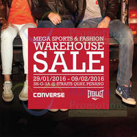 Read more about Converse & EverLast Mega Sports & Fashion Warehouse Sales @ Straits Quay Penang 29 Jan - 9 Feb 2016