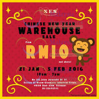 Read more about XES Shoes CNY Warehouse Sale @ Glenmarie 21 Jan - 5 Feb 2016