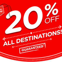 Read more about Air Asia 20% OFF All Destinations 15 - 21 Feb 2016