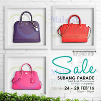 Read more about Celebrity Wearhouz Designer Handbags Sale @ Subang Parade 24 - 28 Feb 2016